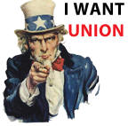 Uncle Sam wants Union!